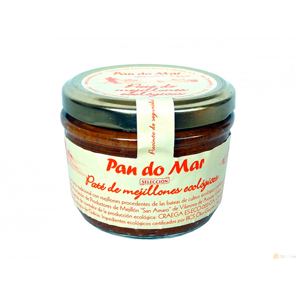 Foto de PATE DE MEJILLONES ECO 125 GR PAN DO MAR